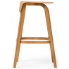 Ton Leaf Counter Stool Stained Beech
