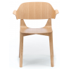 Ton Leaf Dining Armchair Stained Beech