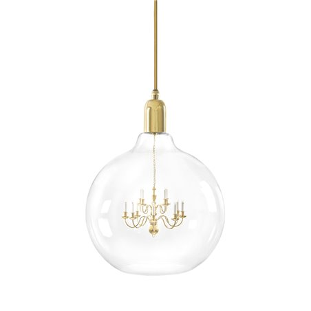 Gold King Edison Grande Pendant Lamp