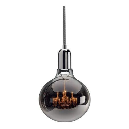 King Edison Chrome Pendant Lamp