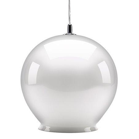 Cauldron Pendant Lamp - Gloss White