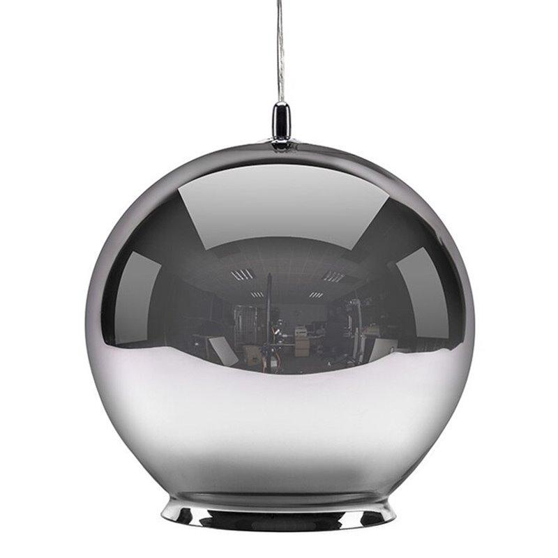 Cauldron Pendant Lamp - Mirror Silver