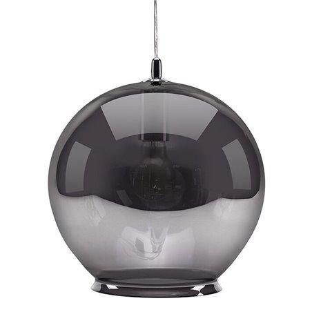 Cauldron Pendant Lamp - Smoke Tint