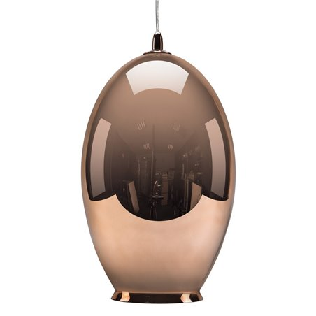 Vase Pendant Lamp - Mirror Copper
