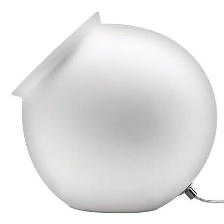 Cauldron Table Lamp - Gloss White