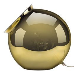 Cauldron Table Lamp - Mirror Gold