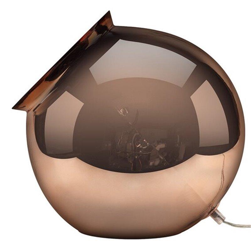 Cauldron Table Lamp - Mirror Copper