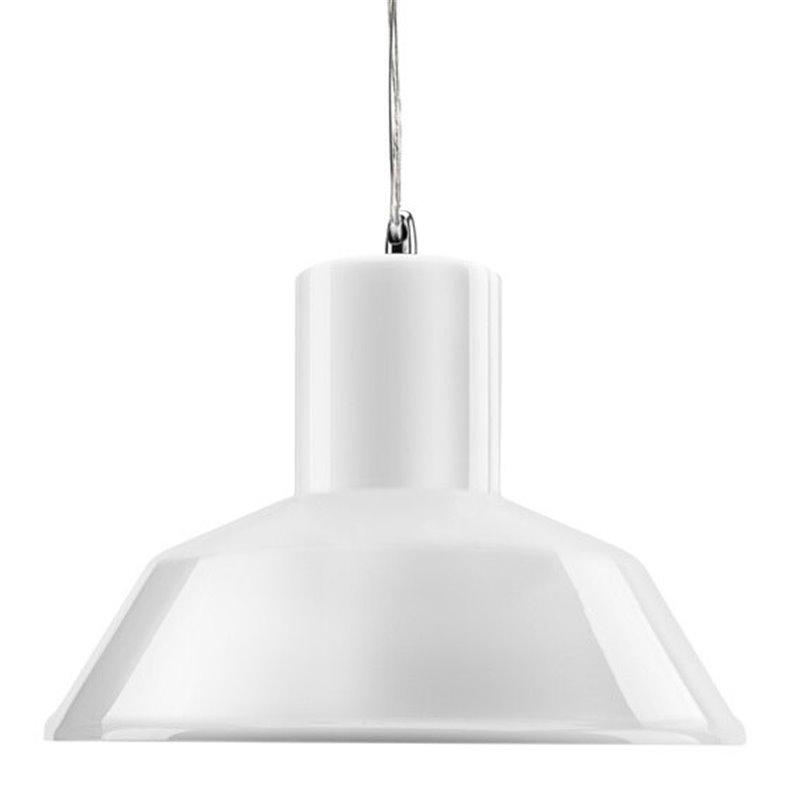 Factory Pendant Lamp -Gloss White