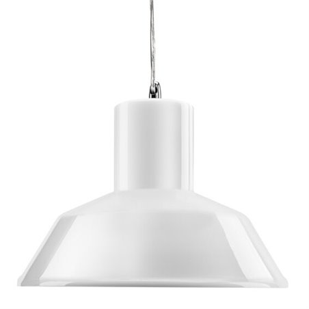 Factory Pendant Lamp -Gloss White