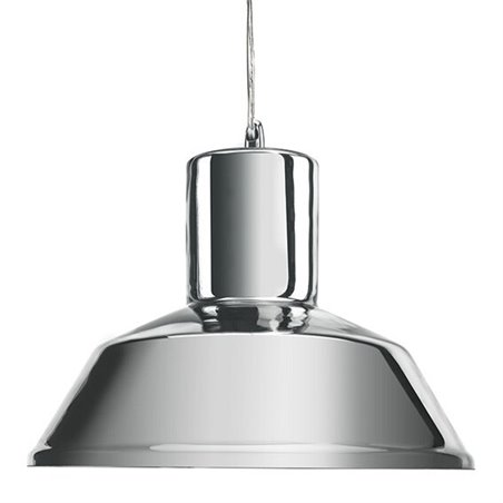 Factory Pendant Lamp - Mirror Silver