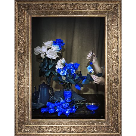 Scent Of Cobalt Canvas Small
