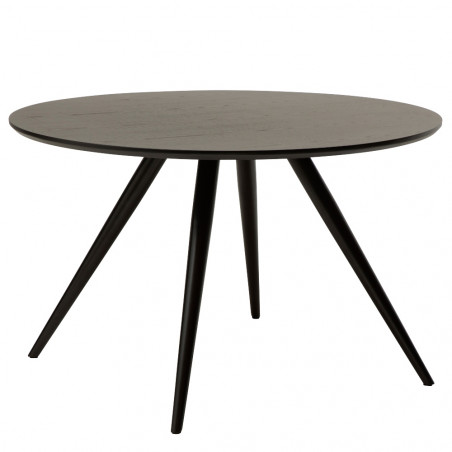 Dan-Form Eclipse Round Dining Table 120 CM Black