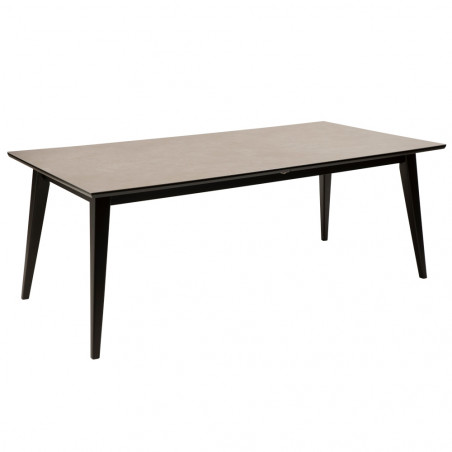 Dan-Form Cibus Dining Table 200 cm - 300 cm Grey Ceramic
