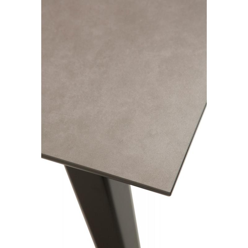 Dan-Form Cibus Dining Table 200 cm - 300 cm Black Ceramic