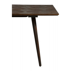 Dan-Form Diamond Dining Table 220 cm Reclaimed Elm