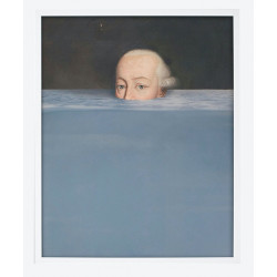Mineheart Submerged 1 Canvas Blue Pastel