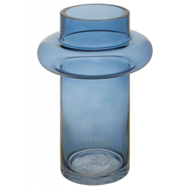 Light Blue Glass Vase