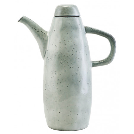House Doctor Rustic Jug with Lid Blue Grey