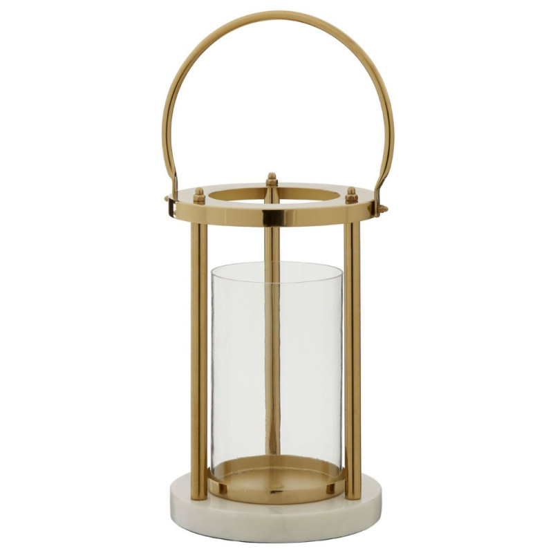 Chelsea Hurricane Lamp with handle Small