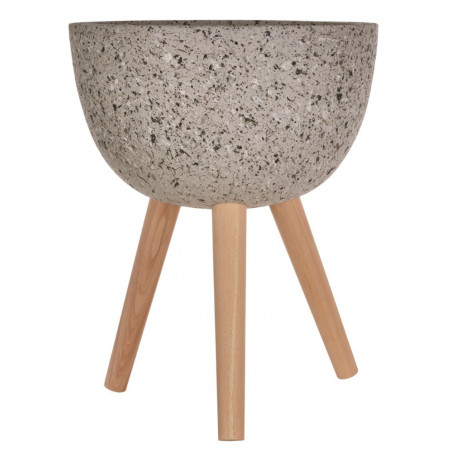 Grey Speckled Planter Medium