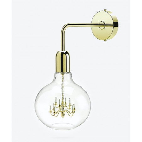 Mineheart Gold King Edison Wall Lamp