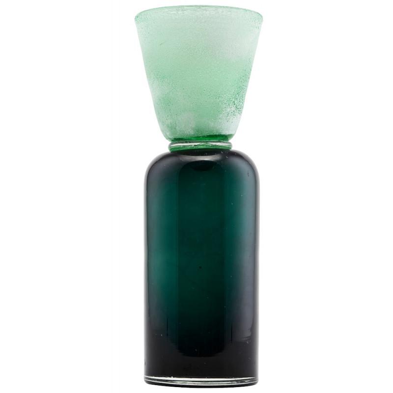 House Doctor Funnel Tealight Holder Green Blue