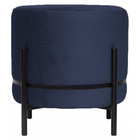 Dome Deco Baba Stool On Stand Paris Velvet Blue