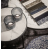 Dome Deco Soho Coffee Tables White Ceramic Top Set of Two