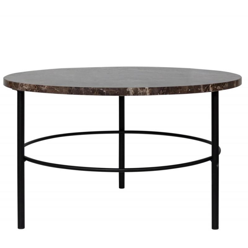 Dome Deco Montreux Coffee Table Emperador Marble Top