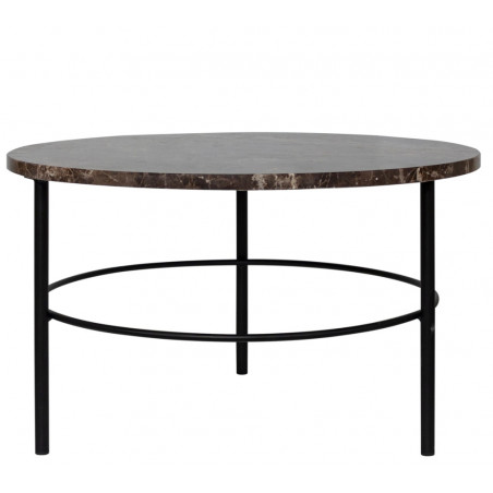 Dome Deco Montreux Coffee Table Emperador Marble Top