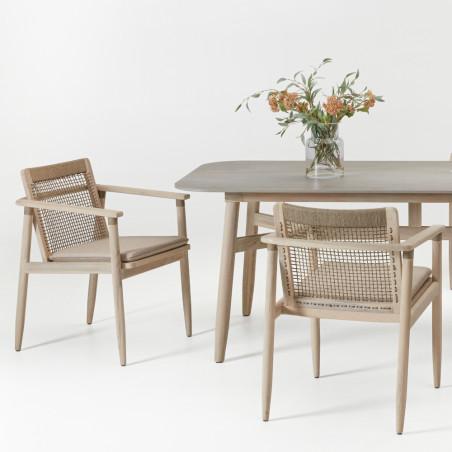 Vincent Sheppard David Dining Table Teak Ceramic 280 CM