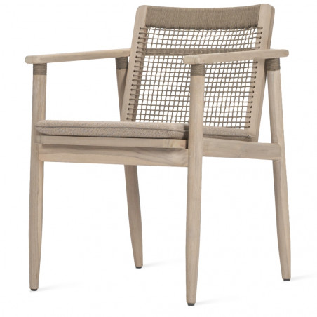 Vincent Sheppard David Dining Chair Teak Rope