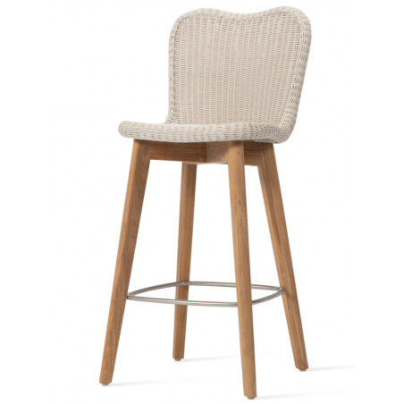 Vincent Sheppard Outdoor Lena Counter Stool Teak Base