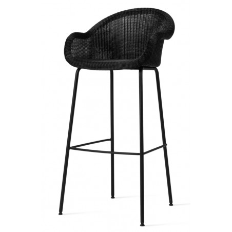 Vincent Sheppard Outdoor Edgard Bar Stool Steel Base