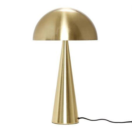 Hubsch Table lamp, brass, metal