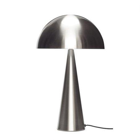 Hubsch Table lamp, metal, nickel
