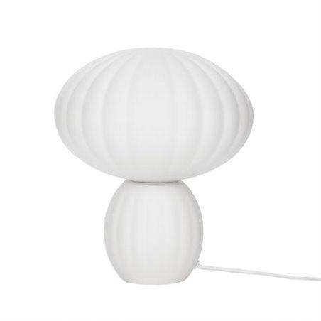Hubsch Table lamp, glass/opal