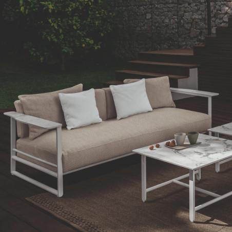 Talenti Riviera 2 Seater Sofa White Beige