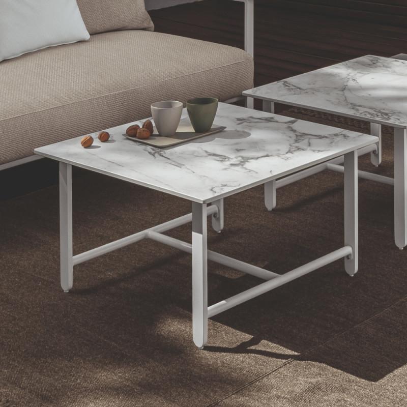Talenti Riviera Garden Coffee Table White Calacatta