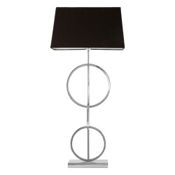 Table Lamp With Dual Rings Base