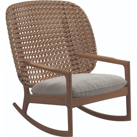 Gloster Kay Rocking Chair High Back | Harvest Wicker