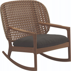 Gloster Kay Rocking Chair Low Back | Harvest Wicker
