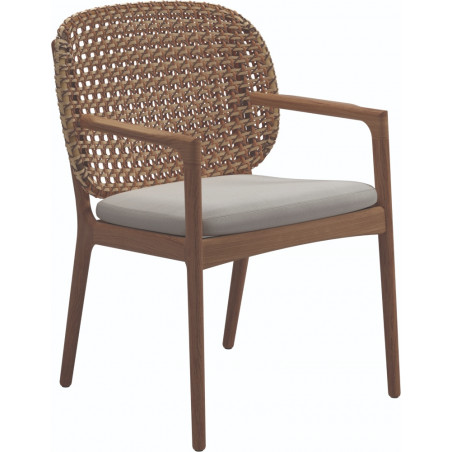 Gloster Kay Dining Chair with Arms | Harvest Wicker