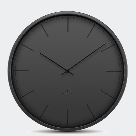 Huygens Wall Clock Tone 45 Black