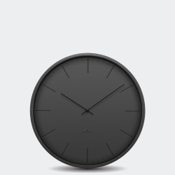 Huygens Wall Clock Tone 35 Black