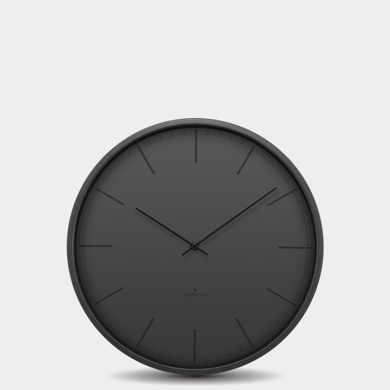 Huygens Wall Clock Tone 35 Black