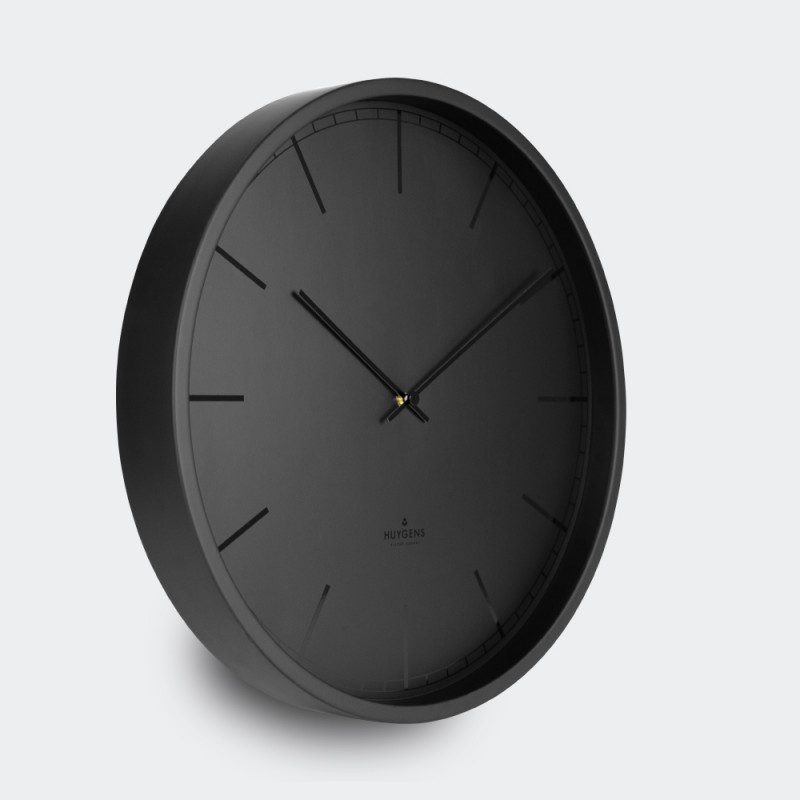 Huygens Wall Clock Tone 25 Black