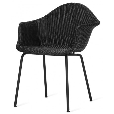 Vincent Sheppard Finn Outdoor Dining Chair Black
