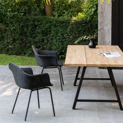 Vincent Sheppard Finn Outdoor Dining Chair Black
