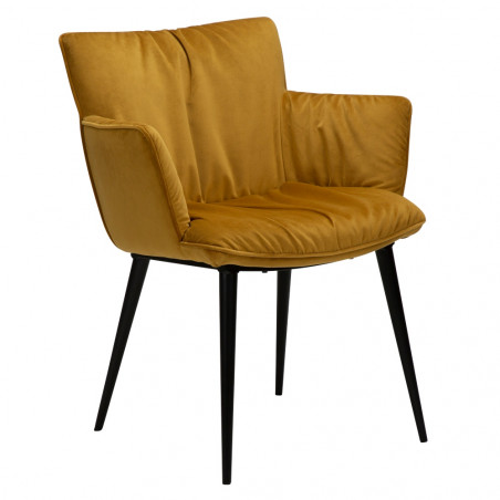 Dan-Form Join Dining Armchair Bronze Velvet